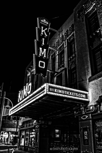Kimo Theatre - Albuquerque, NM by David Verschueren