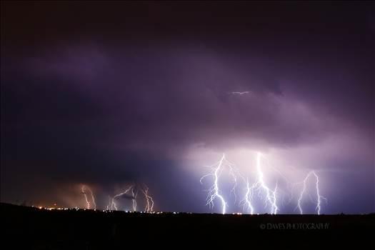 Lightning Over Jal, New Mexico by David Verschueren