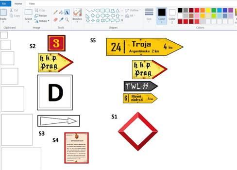 B409 - Road signs in progress.JPG by Dioramartin