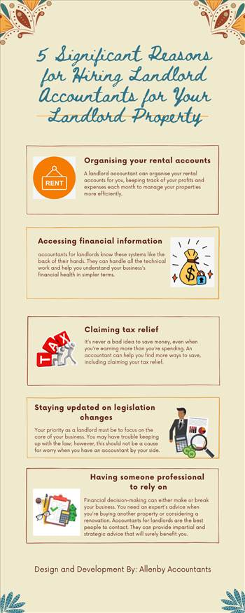 5 Significant Reasons for Hiring Landlord Accountants for Your Landlord Property by Allenbyaccountants